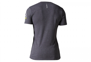 maillot reebok obstacle terrain racing gris m