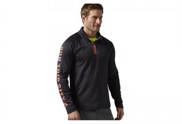 veste reebok essentials zip 1 4 noir xl