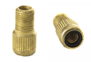 zefal adaptateur raccord valve schrader presta a l unite