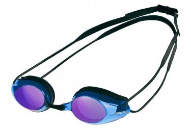 Lunettes de bain arena tracks mirror noir bleu