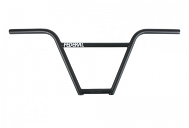 Guidon bmx federal drop v2 4pc noir 9