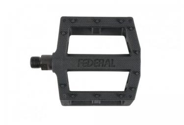 Pédales Plates BMX FEDERAL CONTACT Noir