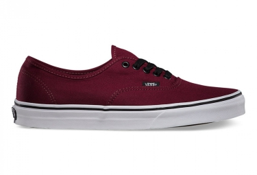 vans u authentic port royale noir 42 1 2