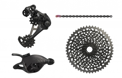 SRAM XX1 EAGLE 12 Speed Mini Groupset - Full Black (Crankset not included)