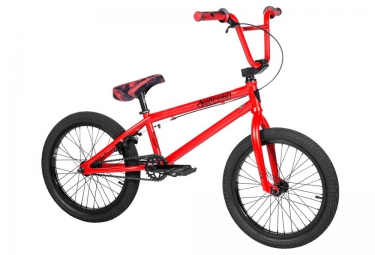 bmx freestyle subrosa tiro 18 rouge