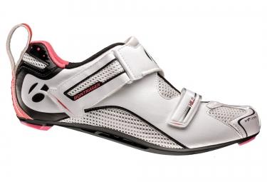 chaussures route femme bontrager hilo 2017 blanc 39