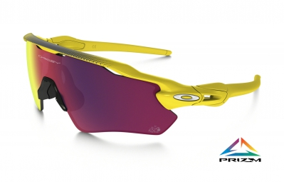oakley lunettes radar ev path prizm road tour de france jaune prizm road ref oo9208