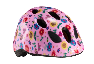 Casco Bontrager Kids Little Dipper MIPS Fiori rosa
