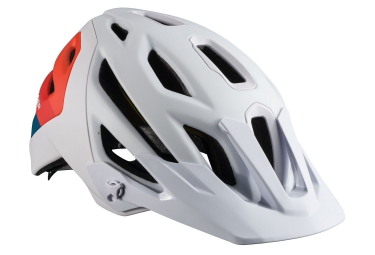 casque bontrager lithos mips 2017 blanc orange l 58 64 cm