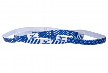 Mini Bandeau Femme (3 pièces) MIZUNO TRAINING 3P Bleu Blanc