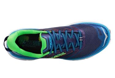 Chaussures de Running Hoka One One CONQUEST 3 Bleu / Violet