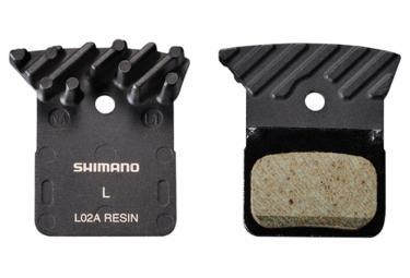 Shimano plaquettes de freins a disque l02a organiques