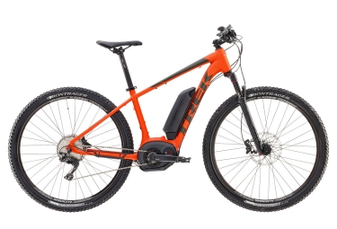 vtt electrique trek powerfly 7 500w 29 2017 shimano deore xt 11v orange mat 17 5 pou