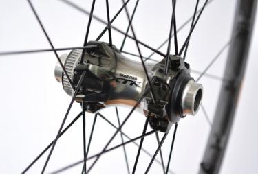 Paire de Roues Shimano XTR WH-M9000 27.5'' Axe 15 x100/9x135mm CenterLock