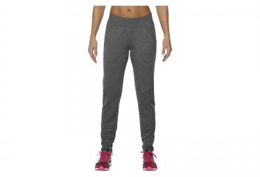 pantalon femme asics performance thermopolis gris m