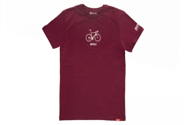 t shirt manches courtes bmc road rouge m