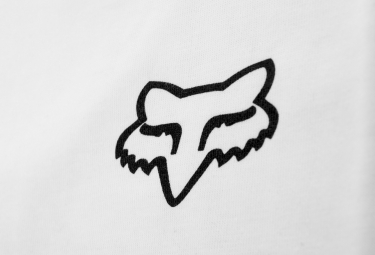 T-Shirt Manches Longues FOX COUNTERPART RAGLAN Blanc Noir