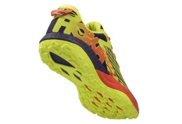 Chaussures de Running Hoka One One SPEED INSTINCT  Jaune / Orange