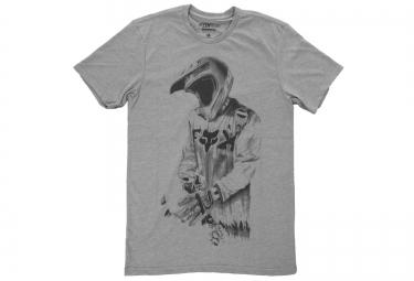 T-Shirt FOX DEATH BY MOMENTUM Gris