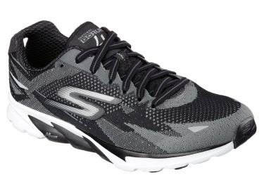 SKECHERS GO RUN 4 Noir Gris