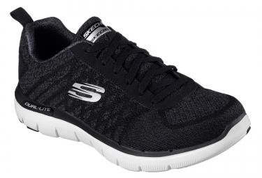 Chaussures de Running Skechers FLEX ADVANTAGE 2.0 Noir