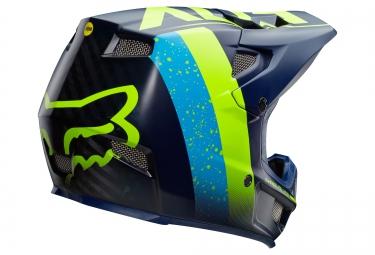 Casque Intégral FOX RAMPAGE PRO CARBON MIPS KROMA Bleu Vert
