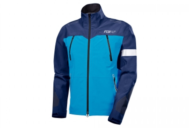 Veste coupe vent impermeable fox downpour pro bleu xl
