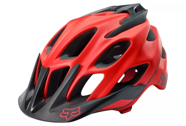 Casque All Mountain FOX FLUX Rouge Noir