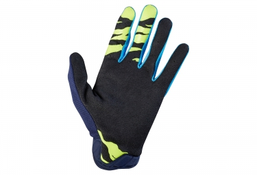 Gants Longs FOX DEMO AIR Bleu