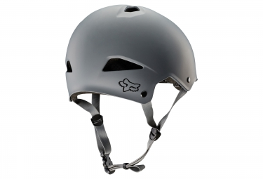 casque bol fox flight gris m 55 56 cm