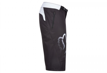 Short de Sport FOX FLEXAIR DH Noir Blanc