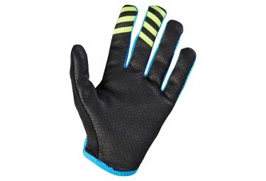 gants longs femme fox lynx bleu l