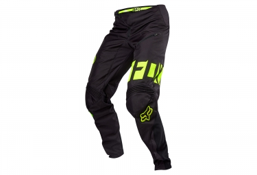 pantalon deperlant fox demo dh wr noir jaune 36