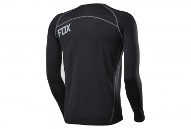 sous maillot manches longues fox frequency noir s