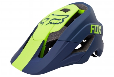 Casque All Mountain FOX METAH Bleu Jaune