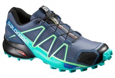 salomon speedcross 4 bleu femme 36 2 3