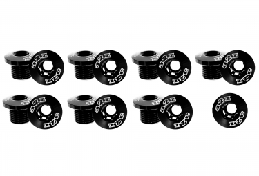 A2Z Alloy Chainring Bolt Set - Black