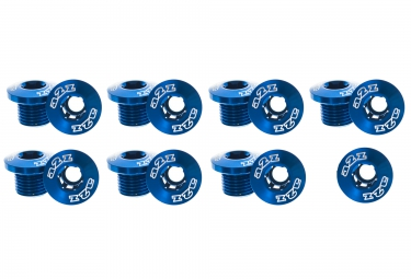 A2Z Alloy Chainring Bolt Set - Blue