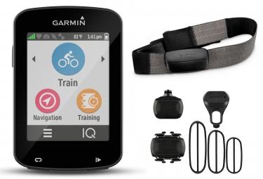 garmin gps edge 820 europe bundle ceinture cardiaque capteurs de cadence vitesse