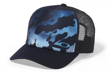 Casquette OAKLEY SUBLIMATED FOAM TRUCKER Bleu Noir