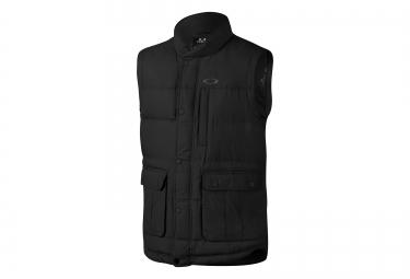 veste sans manches oakley drifter down noir xl