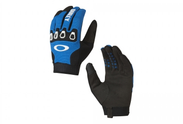 Gants longs oakley automatic 2 0 bleu s