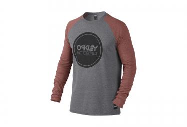 T-Shirt Manches Longues OAKLEY FP Gris Rouge