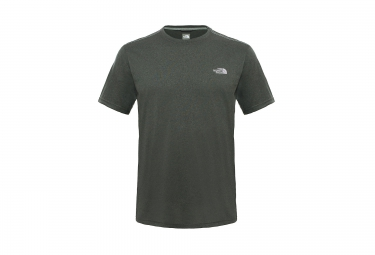 T-Shirt de sport THE NORTH FACE Reaxion Ampere Vert kaki