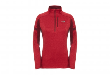 Sweat Manches Longues Femme THE NORTH FACE Impulse Active Rouge