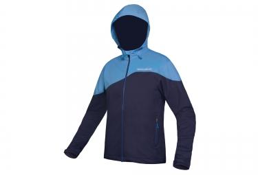 Endura veste softshell singletrack bleu marine m