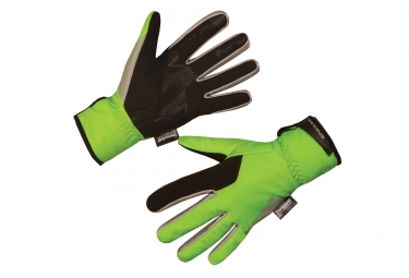 Endura Deluge II Hi Viz Winter Gloves
