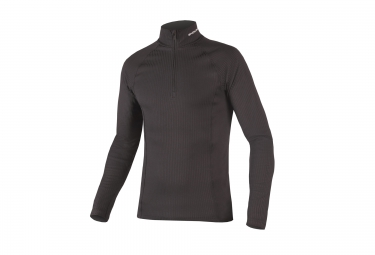 ENDURA Baselayer Long Sleeves Transrib High Neck Black