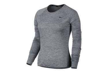 Sweat femme nike therma sphere element gris l
