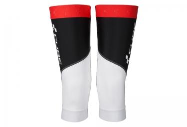 paire de genouilleres cube race blanc noir rouge m